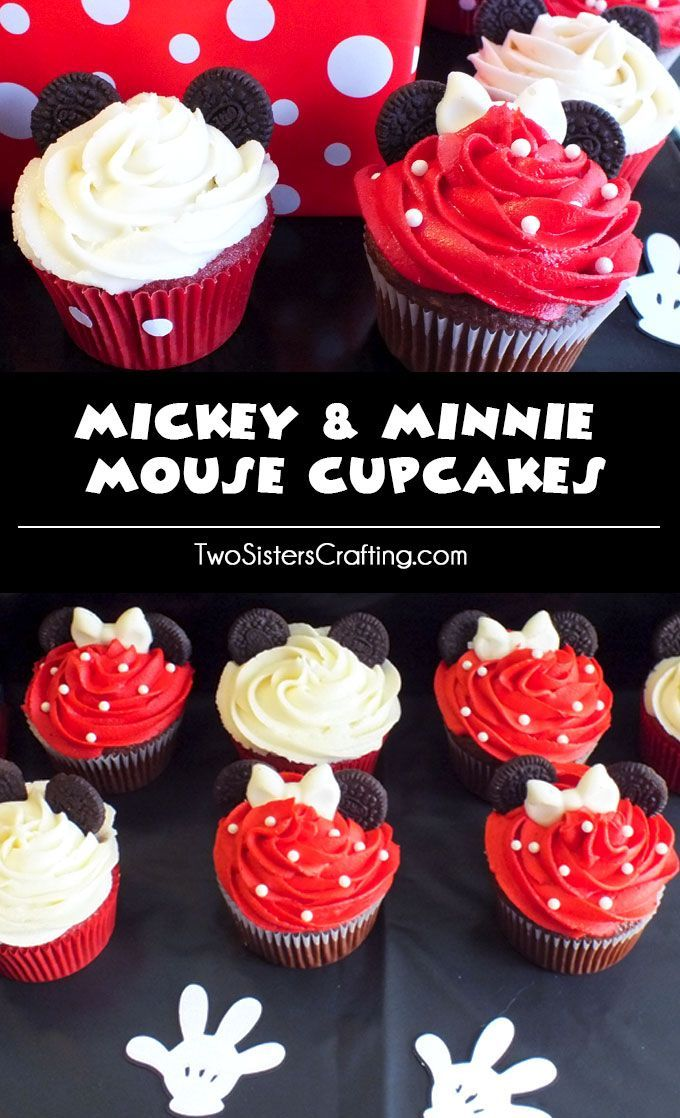 Best 25 Mickey cupcakes ideas on Pinterest Mickey mouse