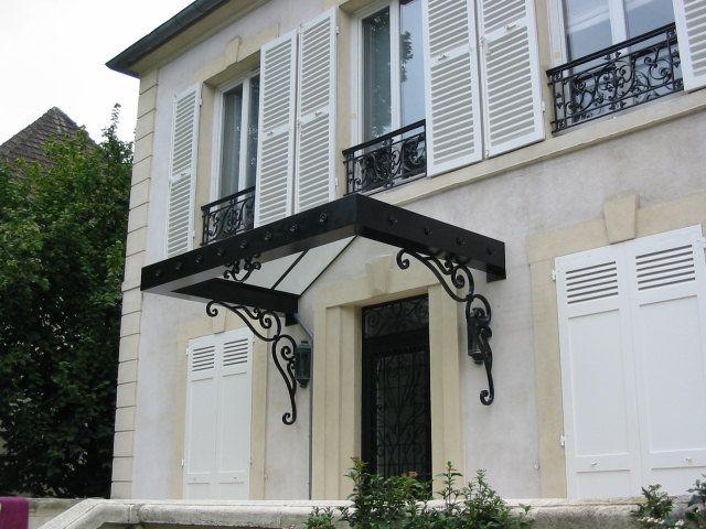 25 ideas destacadas sobre marquise fer forg en pinterest fragua de herrero - Marquise maison moderne ...