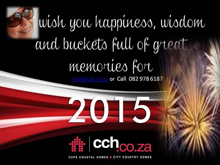 2015 is on the Horizon.....