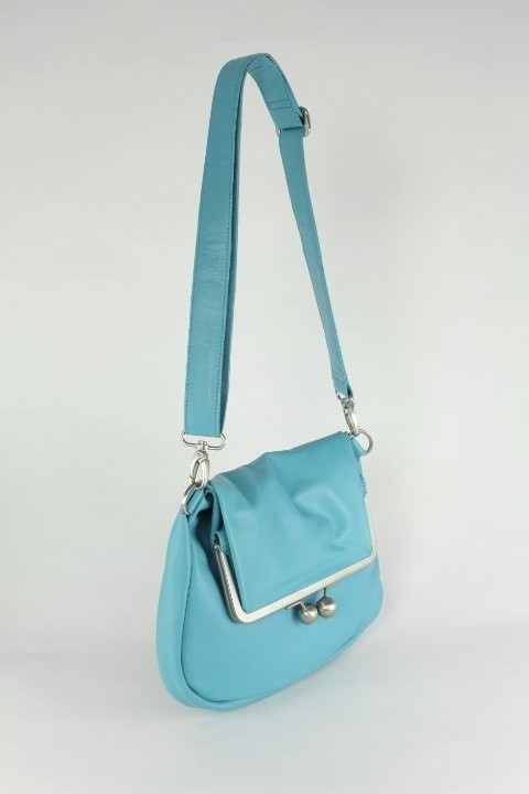 Sticks and Stones - Cannes Bag, Turquoise | Metropolia
