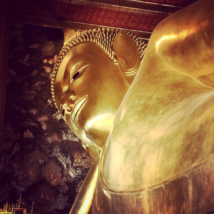 Le Buddha couché de #Bangkok. #Thailande