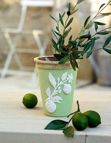 17 meilleures id 233 es 224 propos de pots de fleurs peints sur des pots en argile en
