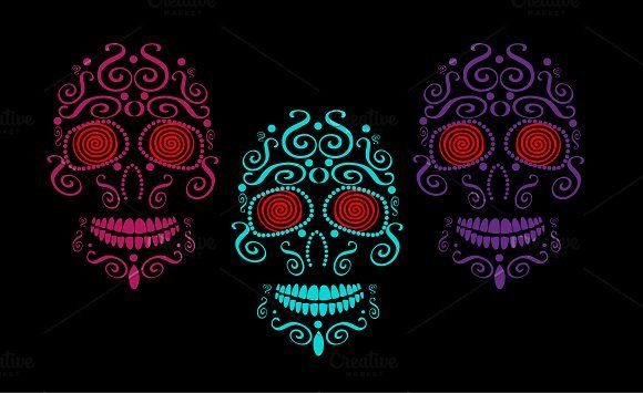 Skull Vector Background For Fashion By Teagraphicdesign Vector Background Vector Skull