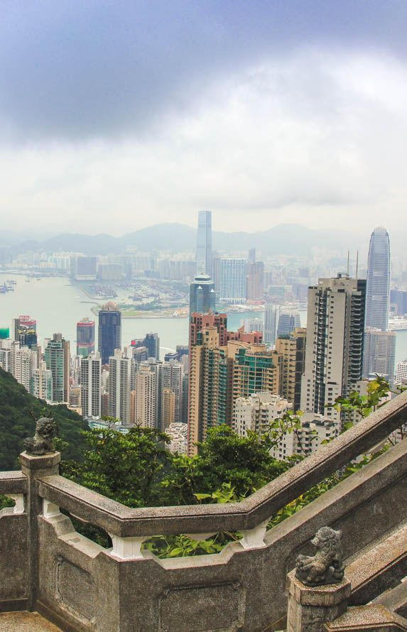 How to spend a day in Hong Kong? View from Victoria's Peak