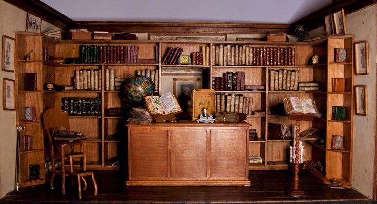 """Librería Anticuaria """"Jorge y Ana"""". By Chon Sánchez Tamayo."""