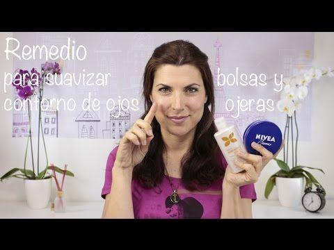 Remedio para suavizar contorno de ojos, y eliminar bolsas y ojeras - YouTube