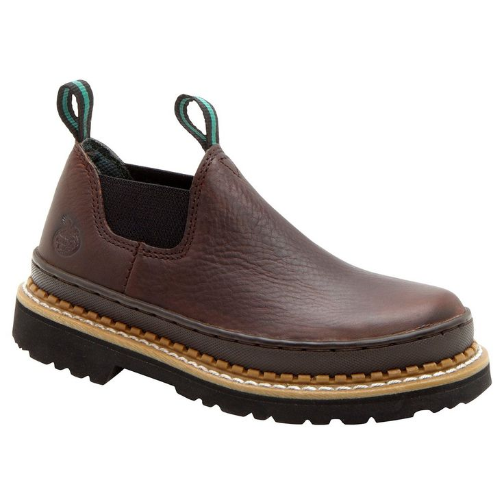 Georgia Boot Boy's Romeo Boots - Brown