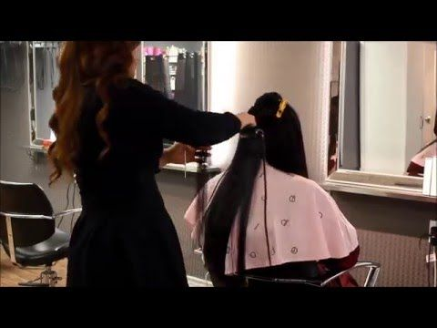 Amazing Japanese Straight Perm @ momo hair. Hi everyone, Liz here~ I hope you enjoy this short clip. :D