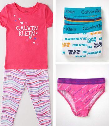 RARE Calvin Klein Kids PJ & Underwear sale! Starts at $5!