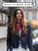 Spring Scarves Are A Massive Fashion Trend: Here's How To Do It Right #refinery29  http://www.refinery29.com/spring-scarves-outfits