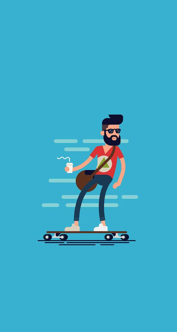 Fond d'écran / wallpaper #hipster #swag                              …