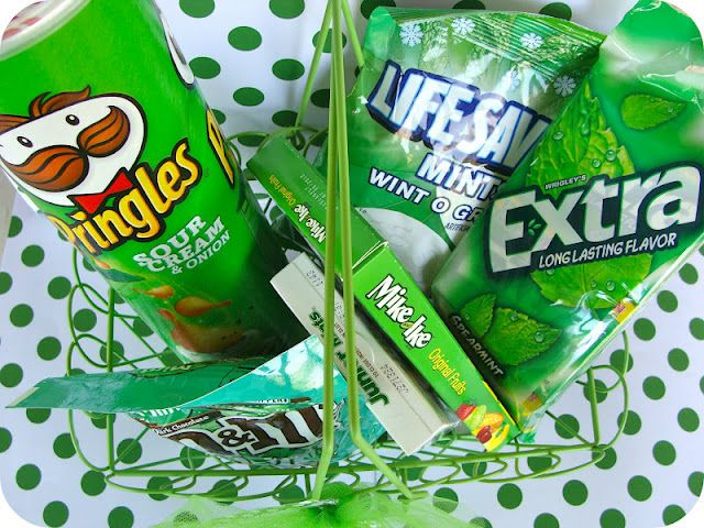 Green with Envy Teacher Gift.... might use some of these for missionary gifts in march. :)