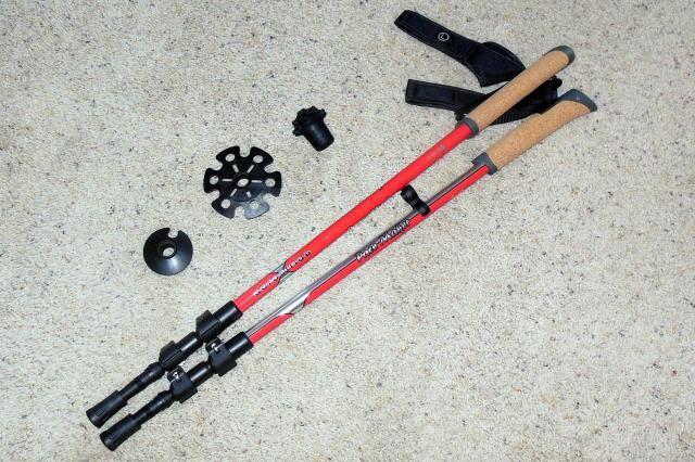 Best Fitness Walking Poles: Pacemaker Stix Aerostride Poles