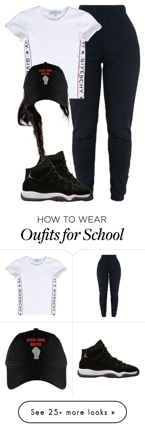 """1114"" by tuhlayjuh on Polyvore featuring Givenchy"