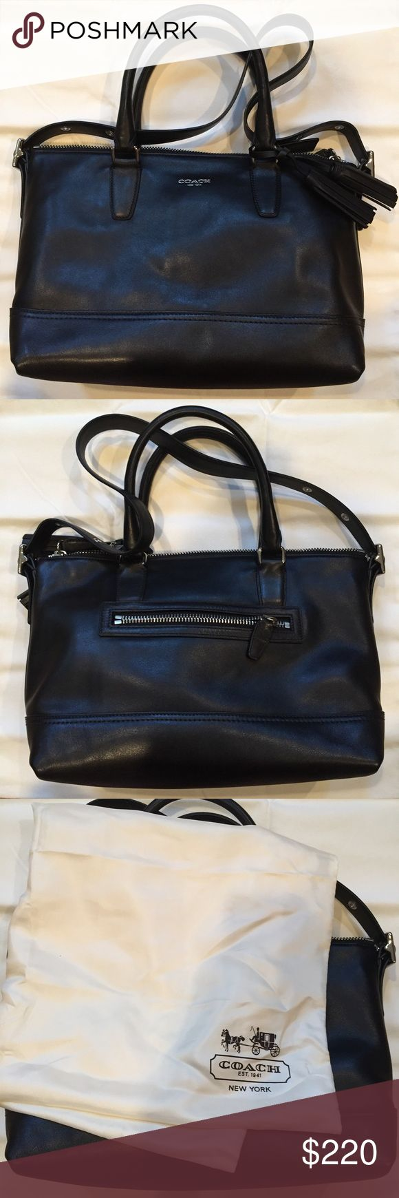Coach Legacy Molly Satchel NWT. New gorgeous smooth black leather Coach Legacy Molly Satchel. Comes with dust bag. Open to offers. Coach Bags Satchels