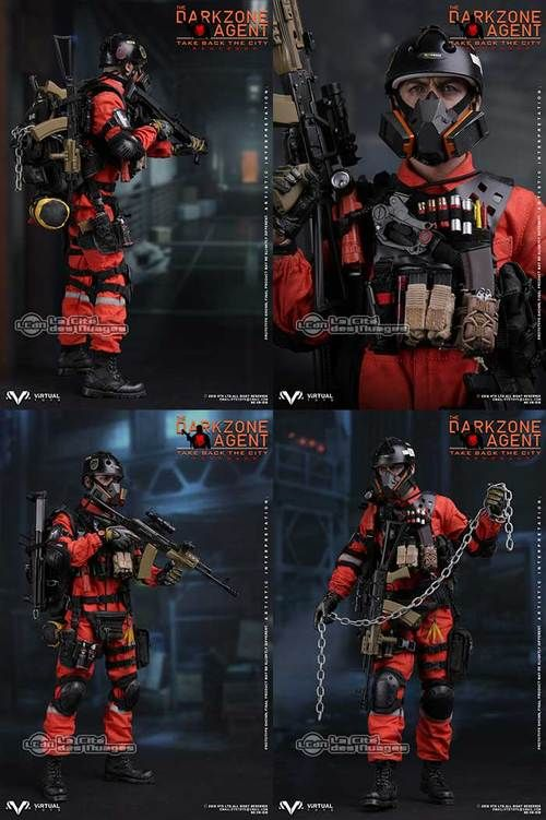 The Dark Zone Agent Renegade inspired by The Division 1/6 Figure 30cm VTS TOYS VM-018 VTS