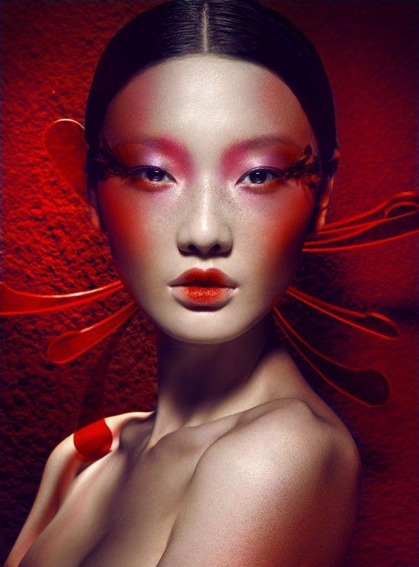 Inspiring makeup -Chen Man (Beijing, China) #makeup #chenman