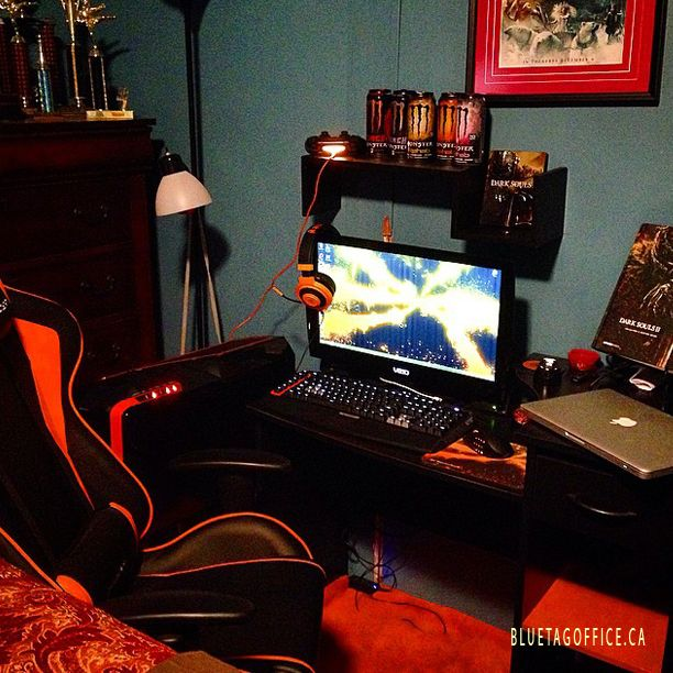 And here is my setup so far for my PC #pcmasterrace #gaming #setup #orange #PC #razer #monster #logitec #dxracer #macbookpro #hashstag #darksouls  Source: instagram.com/dallasoxner  Save up to $200 on DXRacer chairs at Blue Tag Office Ltd Quality office furniture for very cheap! http://www.bluetagoffice.ca ph: 1 888-264-2824