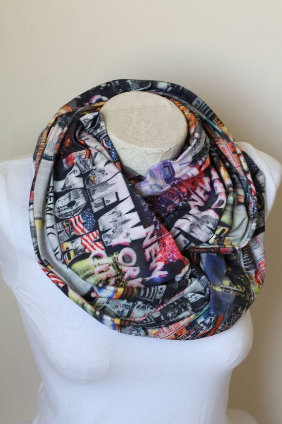New York Scarf Nyc Gift Ideas Women Birthday Gifts Party