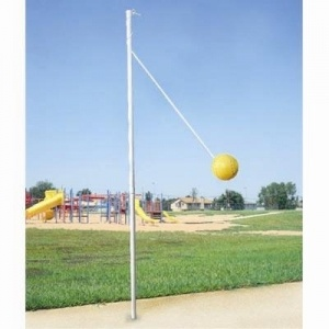 tetherball on the playground in elementary school =)