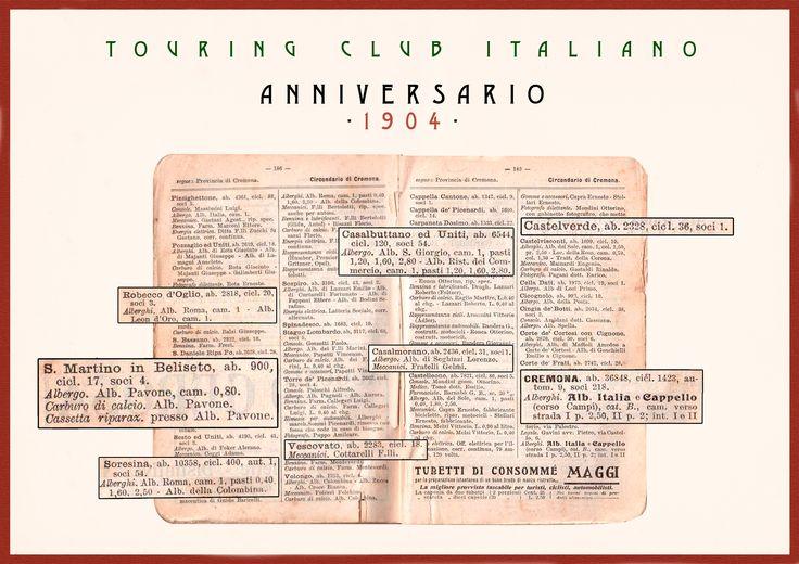 Locandina Touring Club Ristorante Antico Pavone