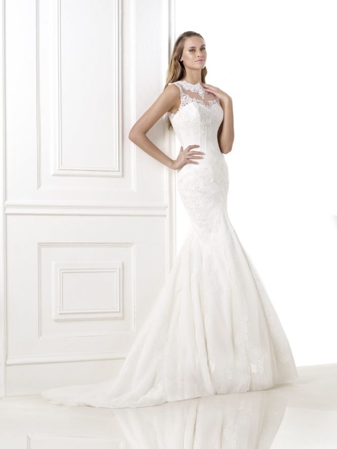 Suknia Ślubna Pronovias Blaguna - Młoda I Moda