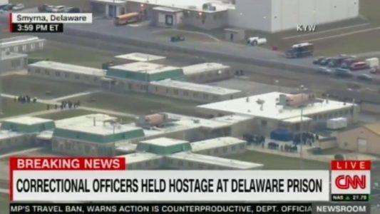 DELAWARE PRISON OFFICERS TAKEN HOSTAGE BY INMATES PRISON IN LOCK DOWN #news #alternativenews