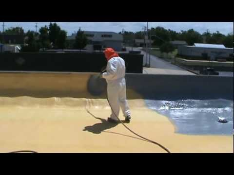 Sprayed Polyurethane Foam Roofing