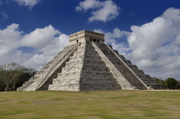 CHICHEN ITZA, (MEXICO) Chichen Itza is believed to be a city built by the Mayans in the pre-Columbian era. It is one of the most popular tourist destinations in Mexico, with 1.2 million visitors a year.