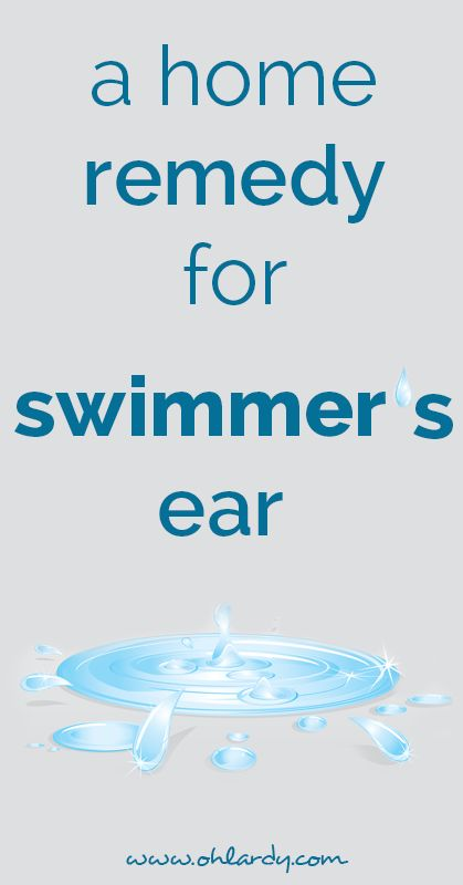 swimmer's ear remedy - ohlardy.com