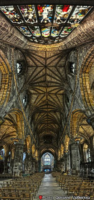 #Scotland St.Giles Cathedral, Edinburgh, Scotland