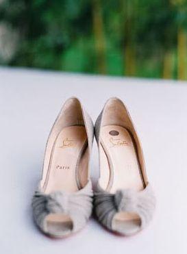 destination, shoes, flower, plaid, romantic, rustic, elegant, bride, bridesmaids, dress, gray, grey, nude, christian, louboutin, wedding, Umbria