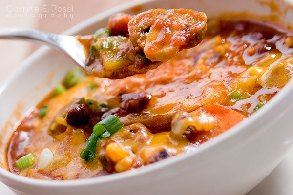 Chili... one of my favorite ways to scarf down some veggies. :)