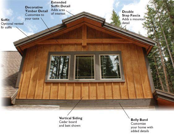 Decorative exterior house trim home design for Exterior house decorative accents