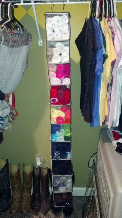 Perfect tank top storage!!