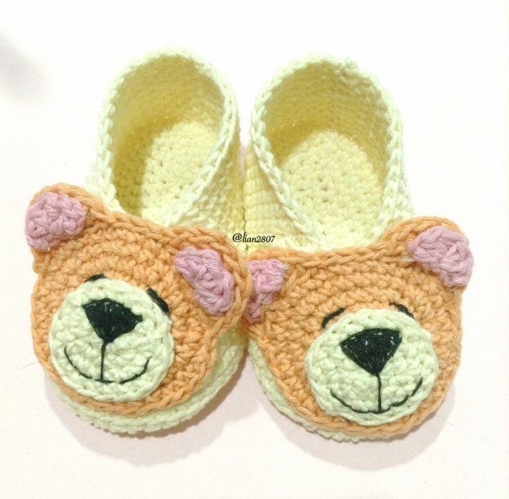 Teddy babybooties