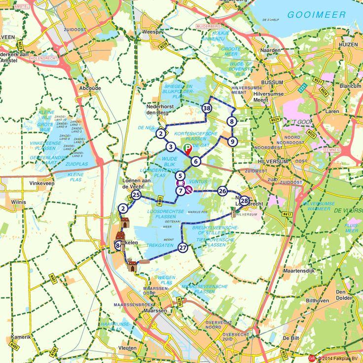 Fietsroute: Breukelense landhuizen met de Loosdrechtse en Kortenhoefse Plassen (http://www.route.nl/fietsroutes/115577/Breukelense-landhuizen-met-de-Loosdrechtse-en-Kortenhoefse-Plassen/)