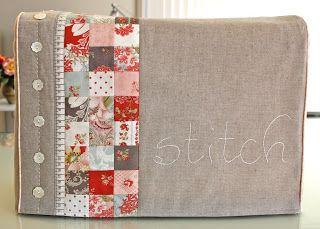 Bloom: Sewing machine cover PDF pattern