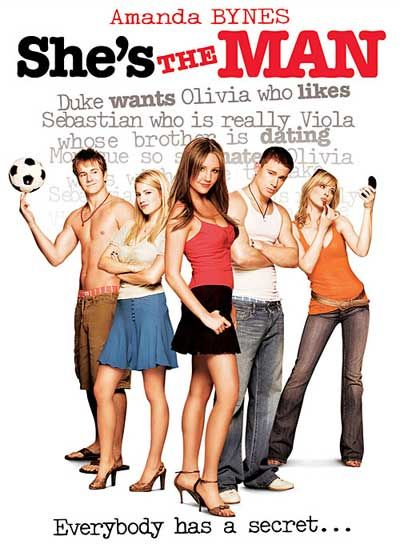 {She's the Man} When I need to be cheered up... this movie always makes me laugh and smile.