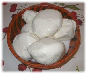 mozzarelle fatte in casa