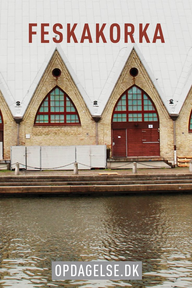 Feskakorka / fish church in gothenburg