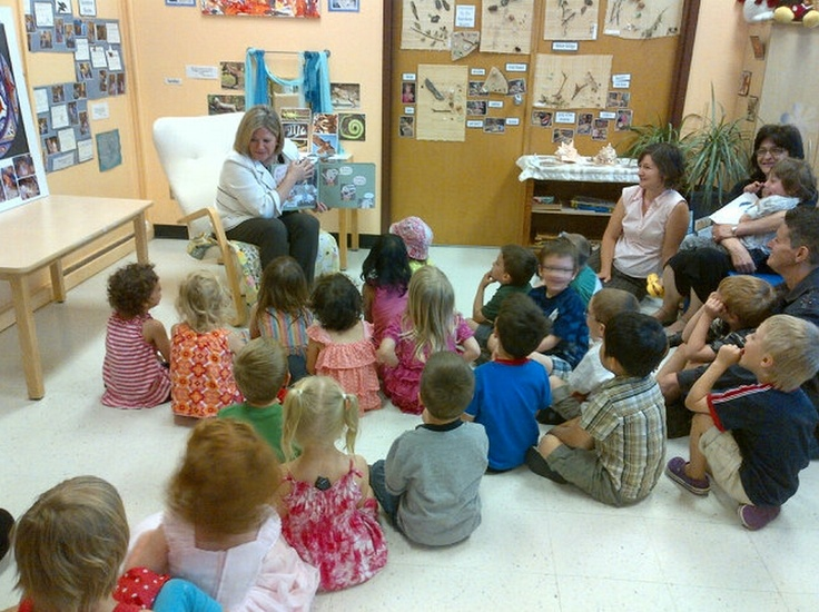 Andrea paid a visit to Emmanuel Childcare this morning. The kids were so great and the centre is beautiful. ‪#kitwat‬ ‪#ondp‬