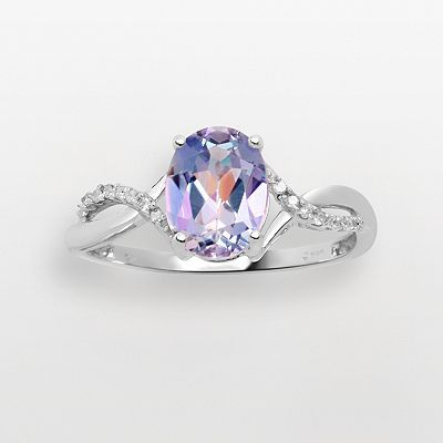 10k White Gold Sheer Luck Topaz Ring....I got this ring for Christmas! Isn't it gorgeous!?!