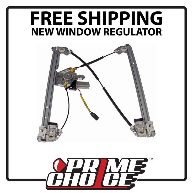 New Power Window Regulator w/Motor Front Drivers Side for F150 Lincoln Mark LT