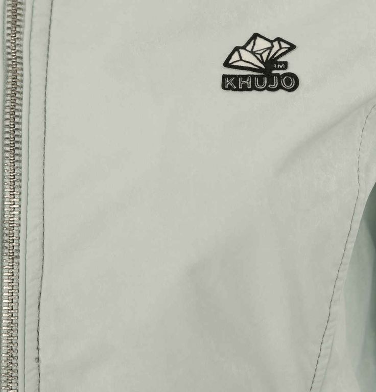khujo Jacke, Vintage-Look, Stehkragen, versteckte Kapuze mint