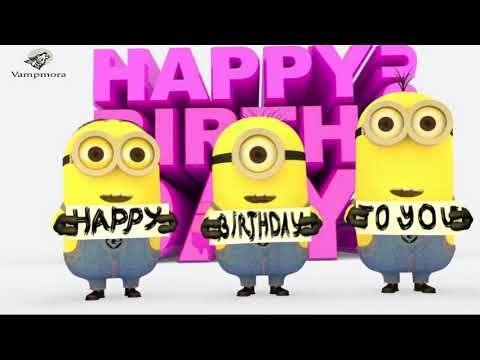 Happy Birthday  Minions Song