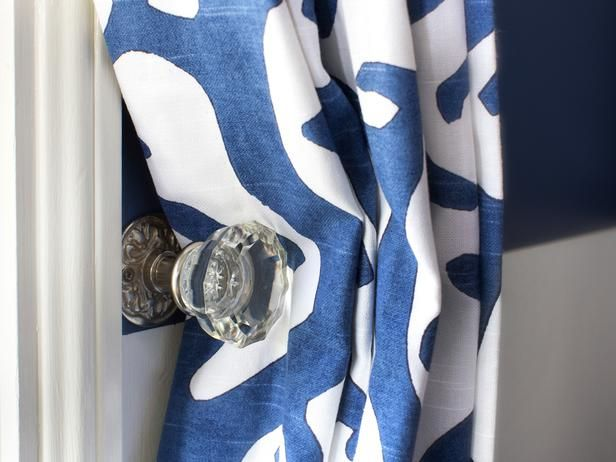 Use a vintage doorknob as a curtain tieback.  http://www.hgtv.com/handmade/use-a-vintage-doorknob-as-a-curtain-tieback/index.html?soc=pinterest