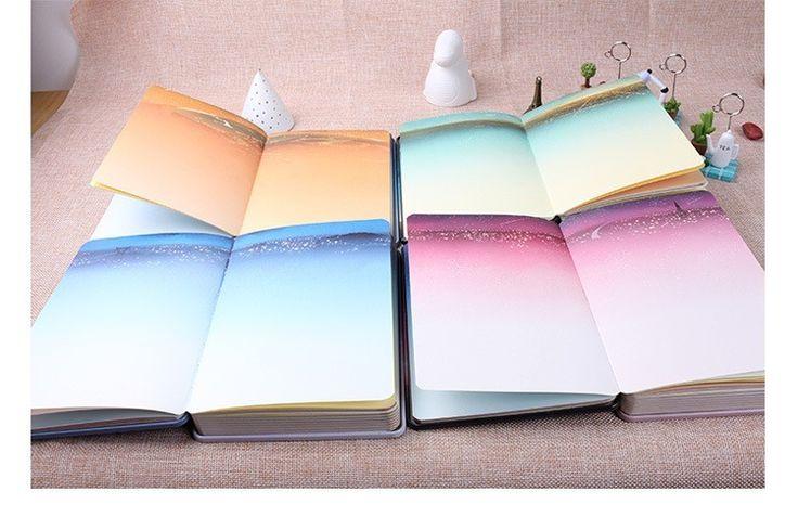 Hot Notebook diário tampa de Lata 144 folhas de papel de cor Noite Silenciosa Criativo livro Bloco de Notas Note book Escritório Escola Suprimentos Presente em Cadernos de Office & School Suprimentos no AliExpress.com | Alibaba Group