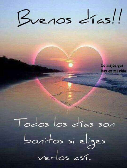 Buenos días *@ Más