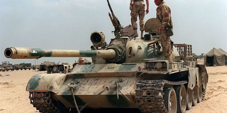 The ex-Iraqi Army tank was hiding a surprise in its diesel fuel tanks.